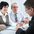 Financial advisor — Stock Photo