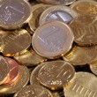 Euro coins. European currency — Stock Photo