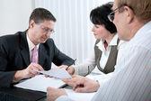Consultor financeiro — Foto Stock