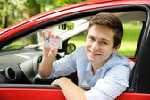 Drivers license — Stock Photo