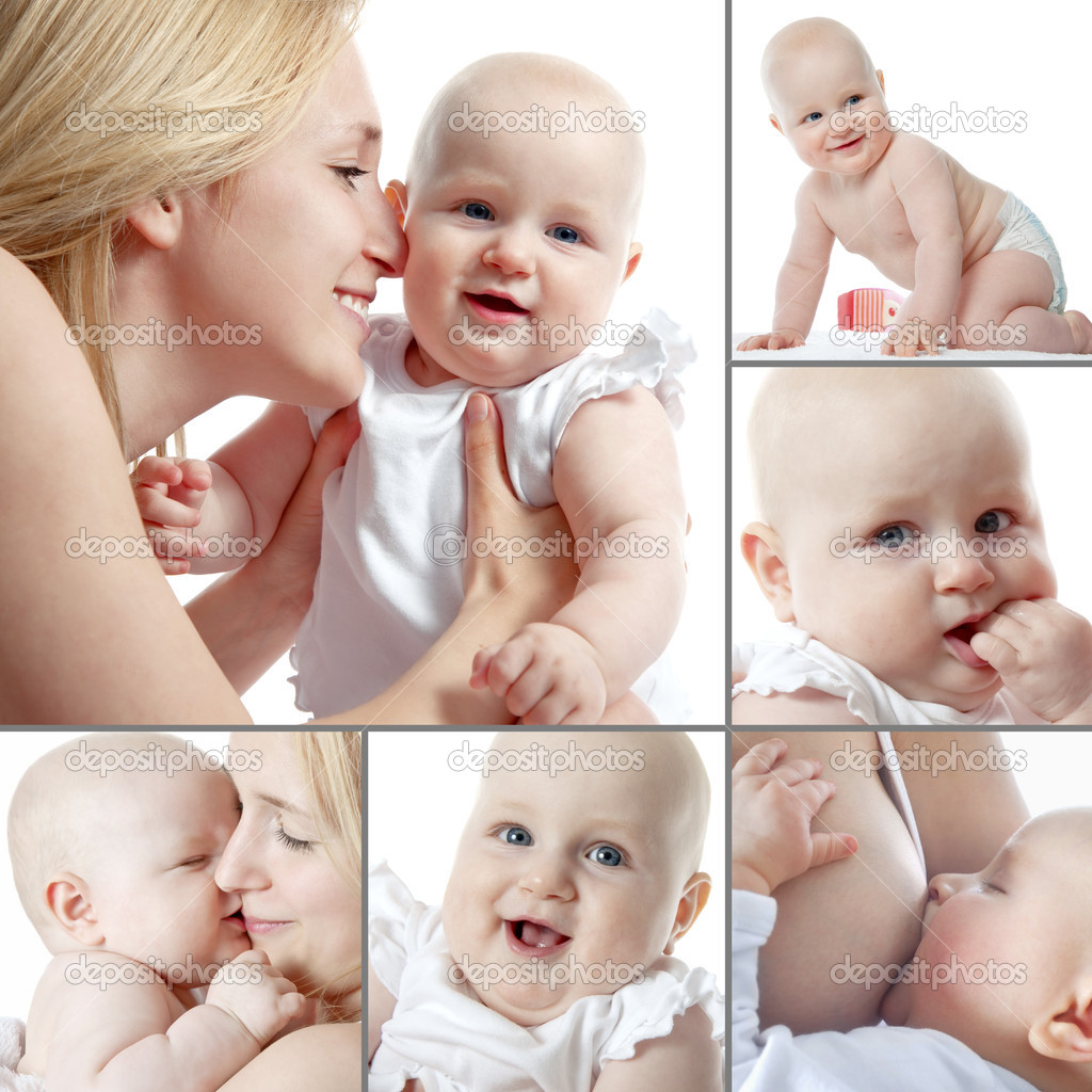 Mother and her baby — Stock Photo #6842632