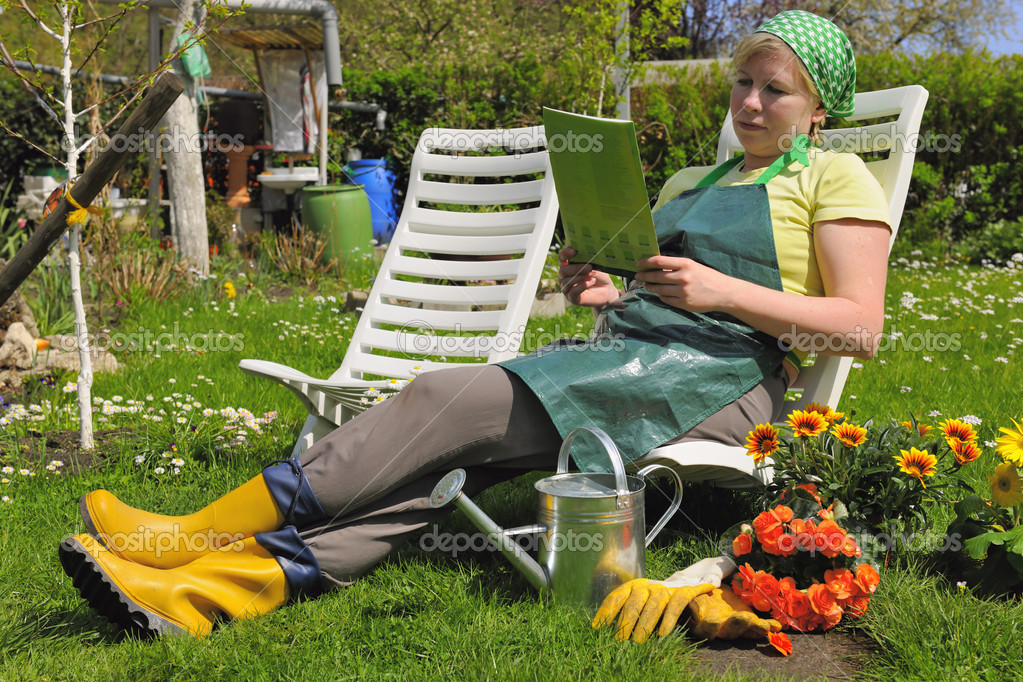 Gardening   Stock Photo #6846142