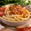Bolognese pasta — Stock Photo