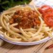 Stock Photo: Bolognese pasta