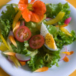 Stock Photo: Fresh garden salad with