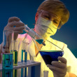 Scientist working at the laboratory — Stock Photo #6859427