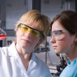 Working in laboratory — Stock Photo