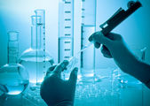 Chemical research — Stock Photo