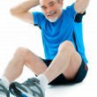 Abs exercise — Stock Photo