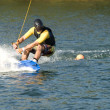 Waterskiing - Foto Stock