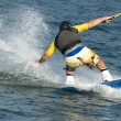 Waterskiing — Stock Photo