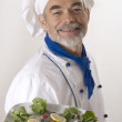 Stock Photo: Portrait of a chef