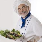 Portrait of a chef — Stock Photo
