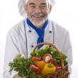 Attractive chef — Stock Photo