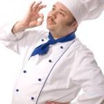 Happy attractive cook — Stock Photo #6861528