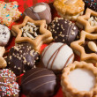 Foto Stock: Christmas cookies