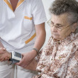 Measuring blood pressure — Stock Photo #6864237