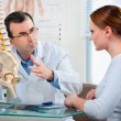 Royalty-Free Stock Photo: Physical Therapist with a patient