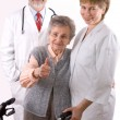 Stock Photo: Nursing home