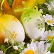 Easter eggs in the nest — Stock Photo #6869493
