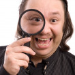 Magnifying glass — Stock Photo #6869647