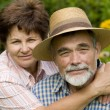 Romantic senior couple — Stock Photo
