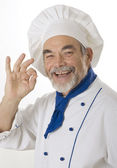 Attraente chef — Foto Stock