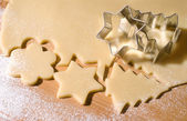 Cookie cutter forms — Stock Photo