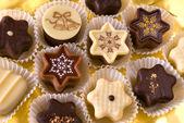 Cioccolatini di natale carino — Foto Stock