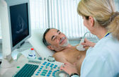 Ultrasound — Stock Photo