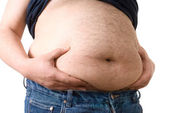 Fat belly — Stock Photo