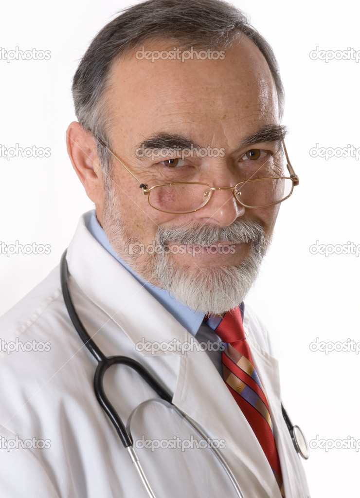 Portrait of male doctor — Stock Photo #6868761