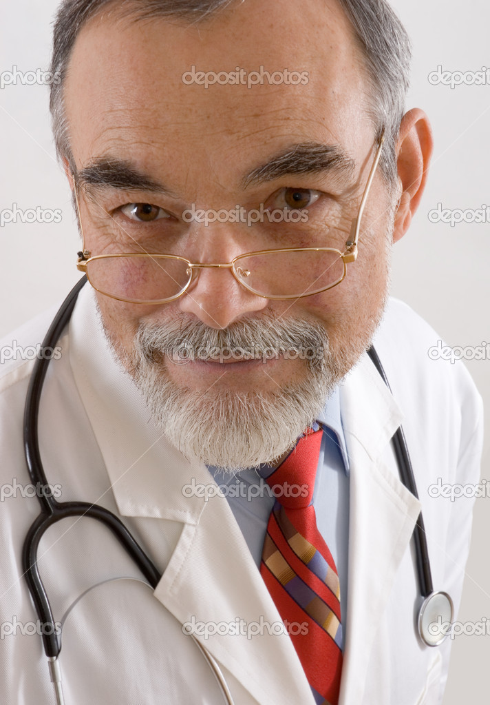 Portrait of male doctor  Stock Photo #6868768
