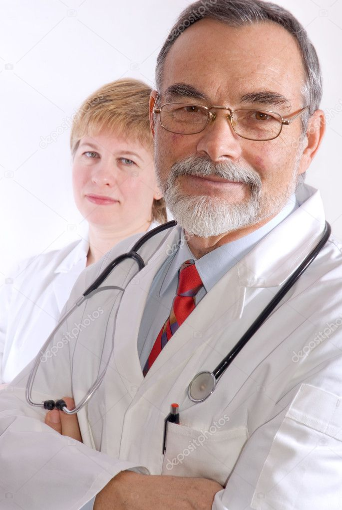 A portrait of a medical doctor  — Stock Photo #6868833