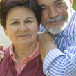 Romantic senior couple — Stock Photo #6870043