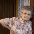 Portrait of the elderly woman — Stockfoto