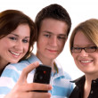 Stock Photo: Teenagers