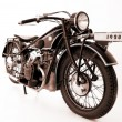 Old motorcycle - Foto Stock