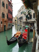 Gondolas from Venice, Italy — Stock Photo