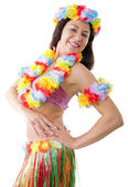 Hula girl — Stock Photo