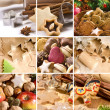 Christmas cakes and spices — Stock Photo #6918902