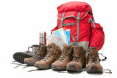 Hiking equipment — Stock Photo