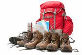 Hiking equipment — Stock Photo