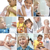 Childrens healthcare — Stock Photo