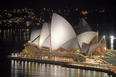 SYDNEY OPERA HOUSE by NIGHT — Stock Photo