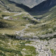Pass road toward north, gottardo - Stock Photo