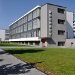 Bauhaus from south, dessau - Stock Photo