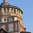 Stock Photo: Santmaridelle grazie dome, milano