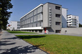 Bauhaus from south, dessau — Stock Photo