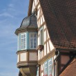 Wattle house , bad wimpfen - Stock Photo